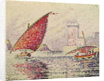 Fort Saint-Jean, Marseilles by Paul Signac