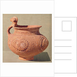 Funerary vase with an anthropomorphic handle by Bronze Age