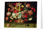 Basket of Flowers by Jacques Linard