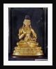 Adibuddha Vajrasattva seated in meditation, by Tibetan School