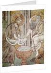 Jesus and St. Peter by Byzantine School