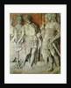 Mucius Scaevola by Andrea Mantegna