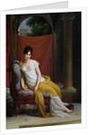 Portrait of Madame Recamier by Francois Pascal Simon