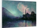 Couillet by Night by Maximilien Luce
