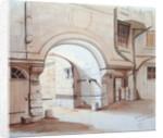 Hotel de Saint-Aignan, Rue du Temple, Paris by French School