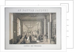 Au Pauvre Jacques: Entrance to the Shops by French School