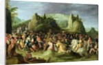 Christ on the Road to Calvary by Frans II the Younger Francken