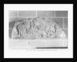 Cast of a frieze of animals from Le Roc de Sers, Charente by Prehistoric