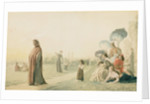 Dante Meditating in the Cascine Garden, Florence by Jean Leon Gerome
