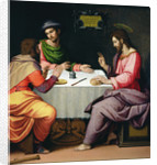 The Supper at Emmaus by Ridolfo
