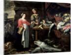 The Fishmonger by Alexander van Adriaenssen