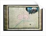 Plan of Rochefort and its surroundings by Sebastien Le Prestre de Vauban