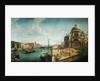 Entrance to the Grand Canal and Santa Maria della Salute, Venice by Michele Marieschi