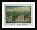 The Chateau de Chantilly by French School