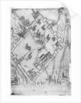 Map of the city of Jerusalem by Flemish School