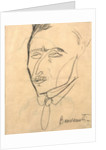 Aristide Sommati by Amedeo Modigliani