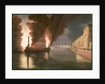 Fireworks on the Seine by Francesco Piranesi