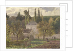 House in the Hermitage, Pontoise by Camille Pissarro