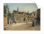 The Hopital de la Salpetriere, Paris by Paul Joseph Victor Dargaud