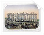 The Chateau de Meudon Bombarded by Prussian Troops in 1870 by French School