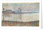 Study for 'The Channel at Gravelines, Evening' by Georges Pierre Seurat
