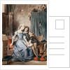 Paolo Malatesta and Francesca da Rimini by Ferdinand Victor Eugene Delacroix