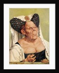 A Grotesque Old Woman, possibly Princess Margaret of Tyrol by Quentin Massys