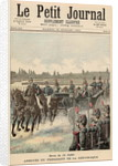 Review of Troops, 14th July: Arrival of the President of the Republic by French School