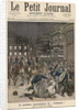 Riots in Paris objecting to the Performance of 'Lohengrin' at the Palais Garnier by Fortune Louis & Meyer