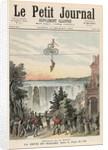 Theatre de la Gaite Performers at Niagara Falls by Henri Meyer