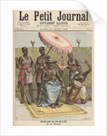 Behanzin King of Dahomey by Fortune Louis & Meyer