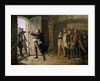 Maurice Gigost d'Elbee Protecting the New Prisoners at Chemille by Marie Felix Edmond de Boislecomte
