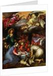 Adoration of the Shepherds by Abraham Bloemaert
