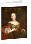 Francoise-Madeleine d'Orleans Duchess of Savoy by French School