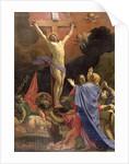 Christ on the Cross by Michel Dorigny
