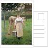 Manda Lametrie, The Farm Maid by Alfred Roll