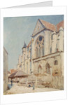 The Church at Moret by Alfred Sisley
