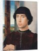 Portrait of a Young Man by Hans Memling