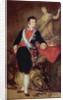 Ferdinand VII of Bourbon by Francisco Jose de Goya y Lucientes