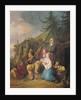 The Balalaika Player by Jean-Baptiste Le Prince