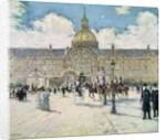 The Hotel des Invalides by Jean Francois Raffaelli
