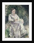 Portrait of Julie Velay, Wife of the Artist by Camille Pissarro