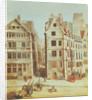 The Cabaret 'A l'Image Notre-Dame', Place de Greve in 1751 by Nicolas Raguenet