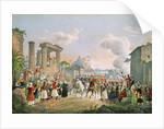 Entrance of Otto of Bavaria into Nauplia by German School