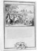 Louis II de Bourbon Prince of Conde with his Brother, Armand de Bourbon Prince of Conti and Henri II de Longueville Duke of Estouteville Riding to Vincennes by French School