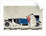 The New 6 Cylinder Renault by Rene Vincent