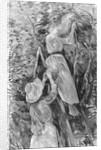 Picking cherries by Berthe Morisot