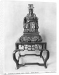 Statuette of Confucius as a Mandarin, Qing Dynasty by Chinese School
