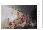 Cannibals savouring Human Remains by Francisco Jose de Goya y Lucientes