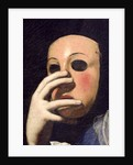 Woman with a Mask by Lorenzo Lippi
